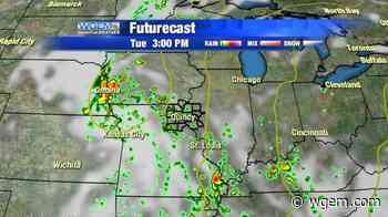 Active, Wet Weather Pattern Continues - WGEM