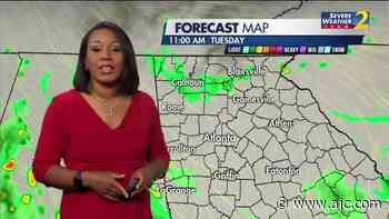 TUESDAY'S WEATHER-TRAFFIC: Cooler, better chances of early showers - Atlanta Journal Constitution
