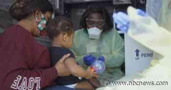 Doctors get creative as coronavirus fears stall kids' health visits