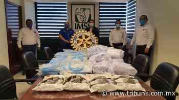Rotarios de Navojoa apoyan con material médico a delegación del IMSS - TRIBUNA