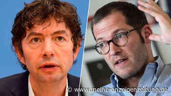 """""""Trink das"""": Drosten und Lauterbach erhalten erschreckende Post - Virologe legt im Studien-Eklat nach"""