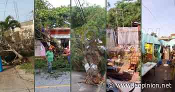 En varias comunidades de Coatzintla, reportan afectaciones en servicio de energía eléctrica - La Opinión