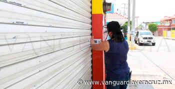 Clausuran establecimientos en Coatzintla, que no cumplen medidas sanitarias - Vanguardia de Veracruz