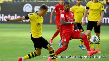 BVB gegen FC Bayern JETZT im Live-Ticker: Traumtor in Dortmund - und der Keeper sieht ganz schlecht aus