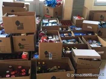 Pacchi alimentari a Volpiano assistite 300 famiglie - Prima il Canavese - Il Canavese