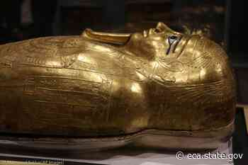 U.S. Sends Stolen Ancient Gold Coffin Back to Egypt: Photo Gallery