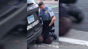"""""""Ich kann nicht atmen"""": Erschütterndes Video zeigt Polizeigewalt in den USA – Afroamerikaner stirbt"""