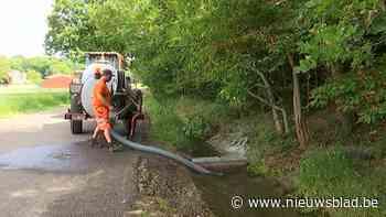 In Bierbeek kunnen landbouwers vanaf nu gemakkelijker water oppompen uit de gracht in de Herpendalstraat