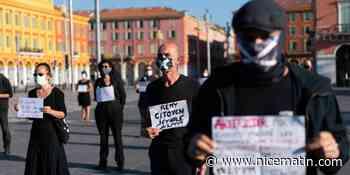 """""""Il y a urgence sociale"""". Les """"intermittents du travail"""" ont manifesté ce mardi matin à Nice"""