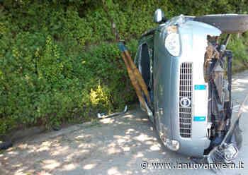Auto si rovescia sulla strada per Monteprandone. Ottantenne soccorso dal 118   La Nuova Riviera - La Nuova Riviera