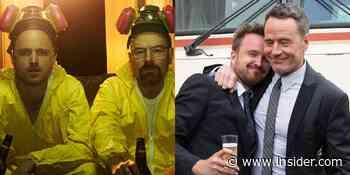 'Breaking Bad' stars Aaron Paul and Bryan Cranston friendship timeline - Insider - INSIDER