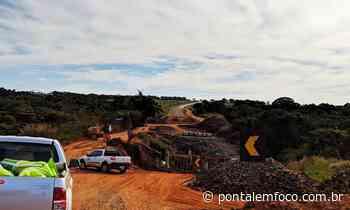 Com 77% de conclusão, obra na BR-154 entre Ituiutaba e Bastos deve ser entregue no mês de agosto, diz DNIT - Pontal Emfoco