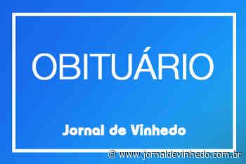 Obituário da semana em Vinhedo - Jornal de Vinhedo