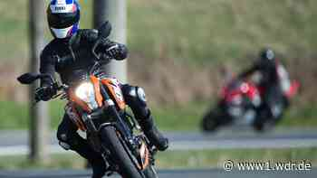 Tempolimit für Motorradfahrer in Wermelskirchen - WDR Nachrichten
