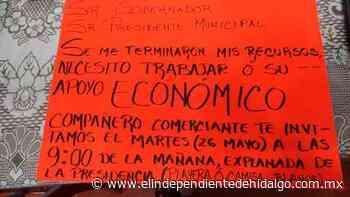 Amagan comerciantes de Tula con manifestarse mañana - Independiente de Hidalgo