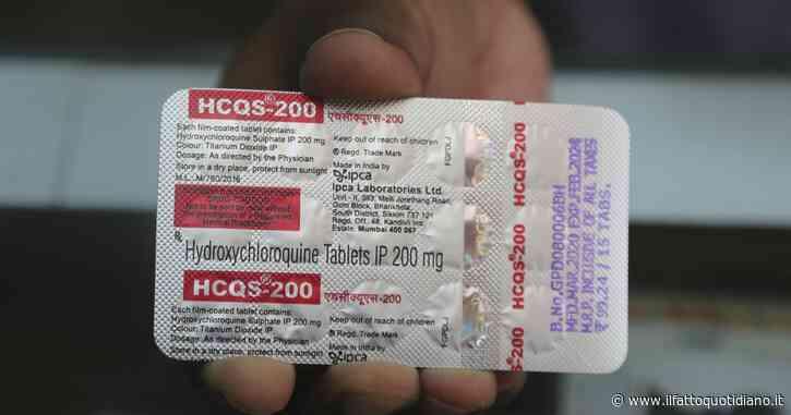 """Coronavirus, anche l'Agenzia italiana del farmaco sospende uso idrossiclorochina: """"Rischi reazioni avverse e benefici assenti"""""""