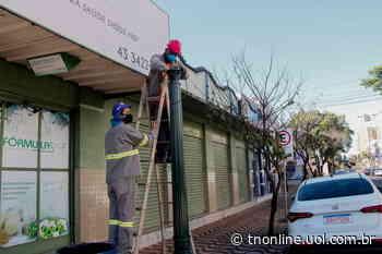 Rua Oswaldo Cruz recebe nesta semana postes republicanos para reforço da iluminação - TNOnline