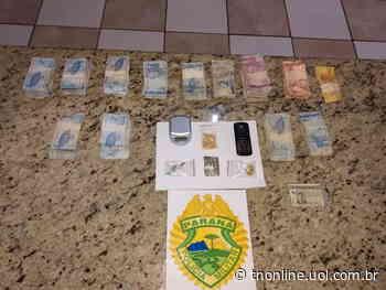 Um homem foi preso pela Polícia Militar (PM) de Apucarana suspeito de tráfico de drogas na - TNOnline