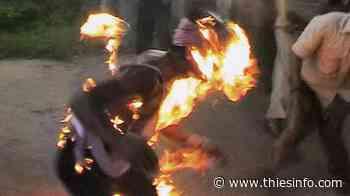Notto Gouye Diama : Le père de famille, brûlé vif par son fils, a finalement rendu l'âme - Thies info