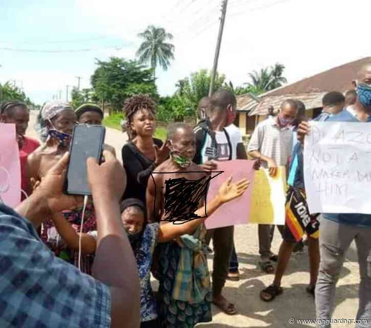 Ogoni women go topless, vow full nude protest over detention of demolished hotel manager