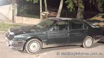 Se movilizaba en Villa Elisa sin permiso de circulación y en un Alfa Romeo robado hace 5 años - El Editor Platense