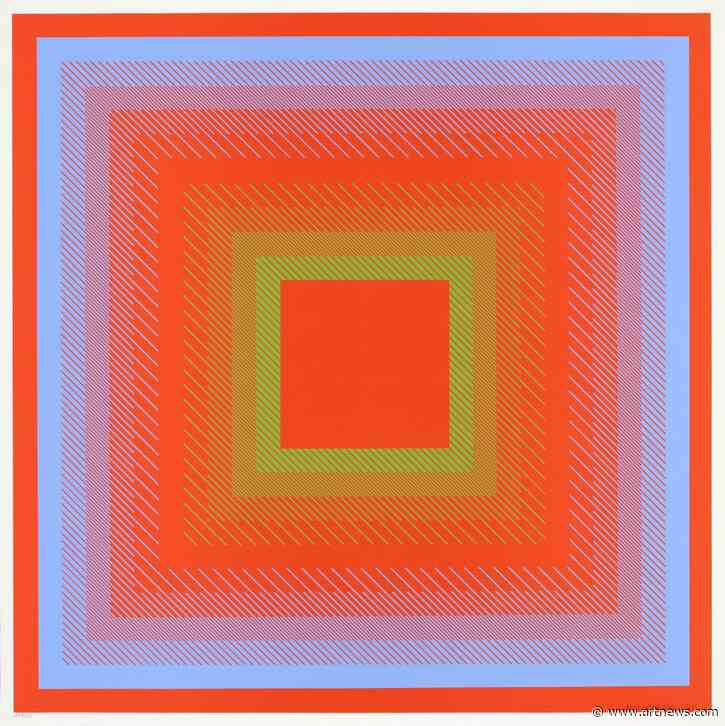 Richard Anuszkiewicz, Pioneering American Op Art Painter, Has Died at 89