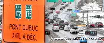 Saguenay : début des travaux au pont Dubuc