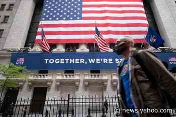US stocks trade sharply higher as economic recovery hopes overshadow pandemic worry