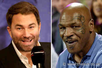Eddie Hearn feared Mike Tyson was going to 'chin' him in terrifying first meeting with 'sad' boxing legend in - The Sun