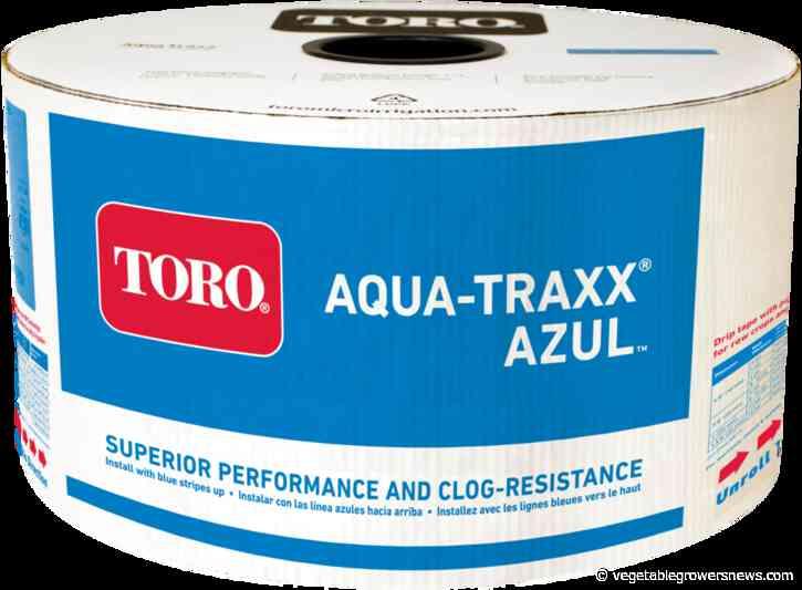 Beniefits of Aqua-Traxx Azul drip tape touted by Toro
