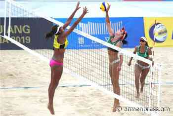 Yerevan to host Olympic rating tournament of beach volleyball - Armenpress.am