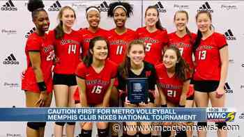 Coronavirus keeps top Memphis volleyball club home, canceling plans to attend national tournament - WMC