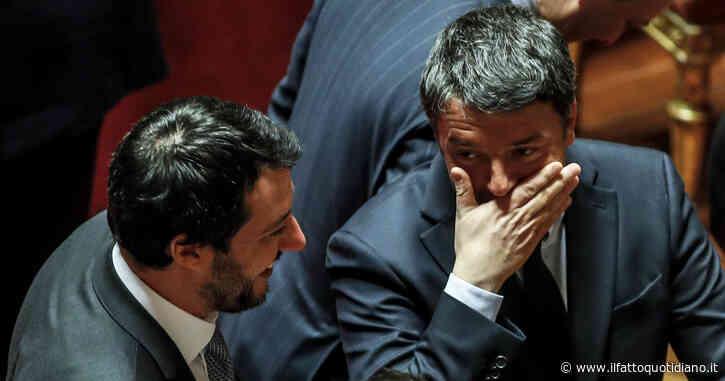 In Edicola sul Fatto Quotidiano del 27 Maggio: Renzi, il palo della banda di Salvini. Salva il capo della Lega su Open arms con una 5S ribelle e un ex