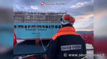 Il porto di Savona–Vado Ligure non si ferma: arrivata la super portacontainer Maersk Genoa (VIDEO) - SavonaNews.it