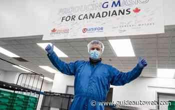 GM Canada produira 10 millions de masques faciaux