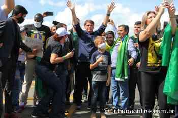 Bolsonaro volta a participar de manifestação em Brasilia - Tribuna Online