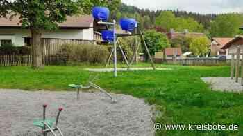 Spielplatz an der Schongauer Weidenstraße wieder geöffnet | Schongau - Kreisbote