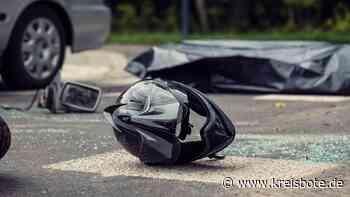 Nach Motorradunfall bei Schwabsoien: 52-Jährige mit Hubschrauber in Klinik | Schongau - Kreisbote