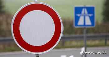 Autobahn-Ausfahrt in Borchen wird gesperrt - Neue Westfälische
