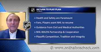 Main Takeaways From the NHL's Return to Play Plan