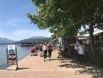 """""""Libera tutti"""" al lago: prima folla, ma non troppa - Eco di Biella"""
