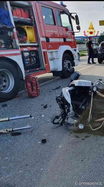 Schianto con un'auto: motociclista biellese morto era Pierfranco Valsecchi - Eco di Biella