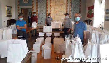 I concessionari del Porfido di Fornace donano i kit di sicurezza ai residenti - la VOCE del TRENTINO