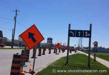Traffic delays better than sink holes in Port Elgin - Shoreline Beacon