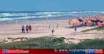Continua la vigilancia en accesos a Playa Miramar - Hoy Tamaulipas