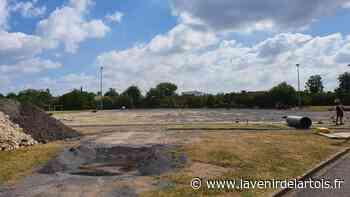 Wingles: Un nouveau terrain au stade Michel-Bernard - L'Avenir de l'Artois