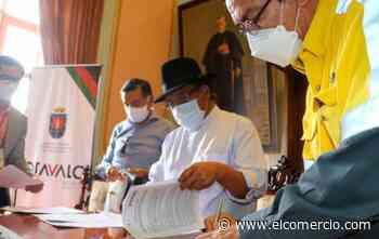Otavalo recibió 1 000 pruebas rápidas para covid-19