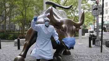 +++ News-Update +++: Hoffnung auf Impfstoff treibt die US-Börse an - DER SPIEGEL