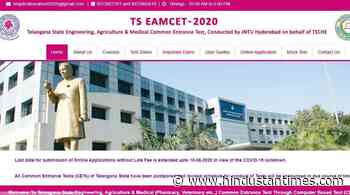 TSCHE EAMCET 2020: Application deadline extended further, check details - Hindustan Times