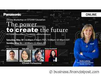 Panasonic and Olympian Katie Ledecky to Host Online STEAM Education Workshop to Inspire Next Generation of 'Change Makers' Children - Financial Post